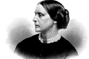 Portrait of Susan Brownell Anthony