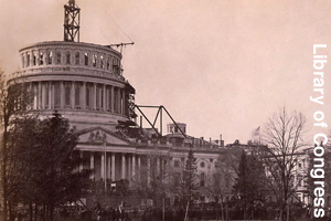 Putting a new dome on top of the Capitol Building
