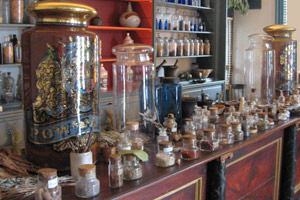 Model of an apothecary