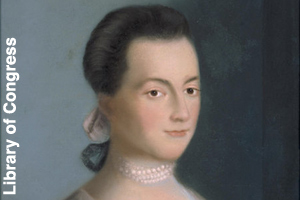 A young Abigail Smith Adams