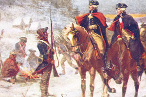 General Washington supported his troops.