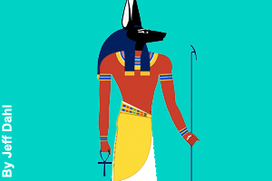 Anubis, god of the dead