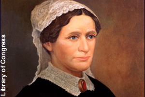 The official portrait of Eliza Johnson