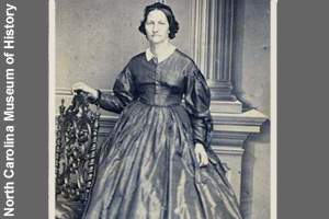 Eliza Johnson while she was First Lady