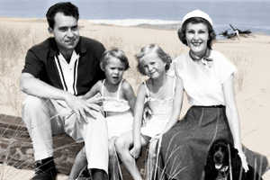 The Nixon Family in the 1950s