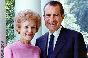 First Lady and President Nixon