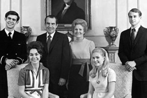 The Nixon Family in the White House