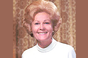 The official photo of Pat Nixon