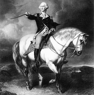 General Washington during the Revolutionary War