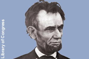 Photo of Lincoln taken <br>one month before his death