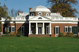Monticello,Thomas jefferson's home