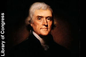 The official portrait of Thomas Jefferson