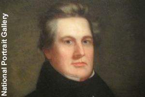 Portrait of a younger Millard Fillmore