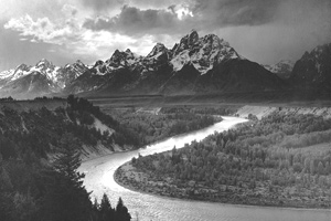 The Tetons and the Snake River, Wyoming