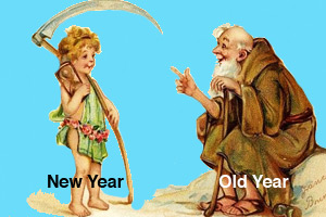 New Year and Old Year