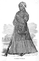 Harriet Tubman in Civil War clothing in 1863