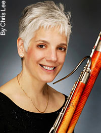 Judith LeClair, famous bassoon player